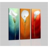 HERMOSA - Modern painting triptych