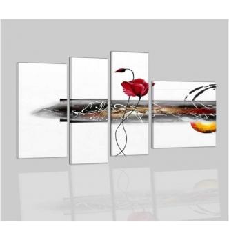 ANIKA - cuadros abstractos con flores