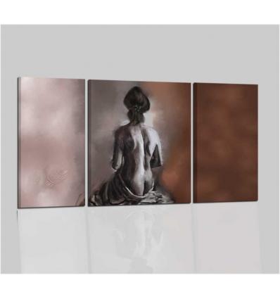 NUDO - Quadro nudo di donna