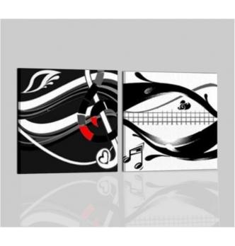 VITTORIA - Quadri musica bianco e nero