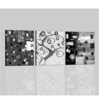 AKEMI - Trittico bianco e nero