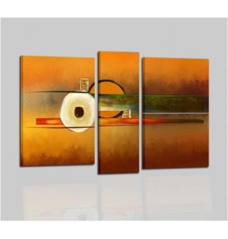 ELSA - Modern painting orange
