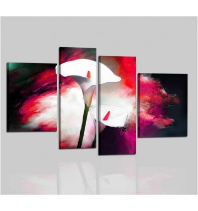 NEA - Quadri moderni con fiori calla
