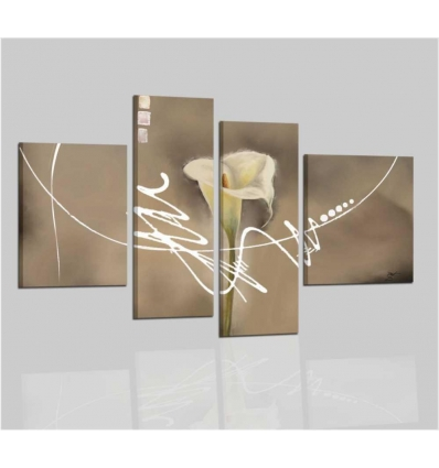 VANDEGA - Quadri moderni con fiori
