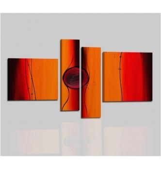 AURELIA - Quadri moderni arancio