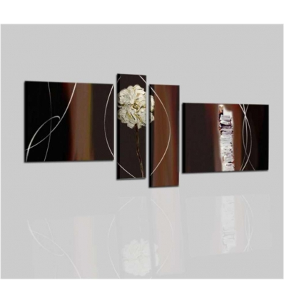 ARTEMIA - Modern painting brown