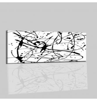 VAGARY - Modern painting black and white