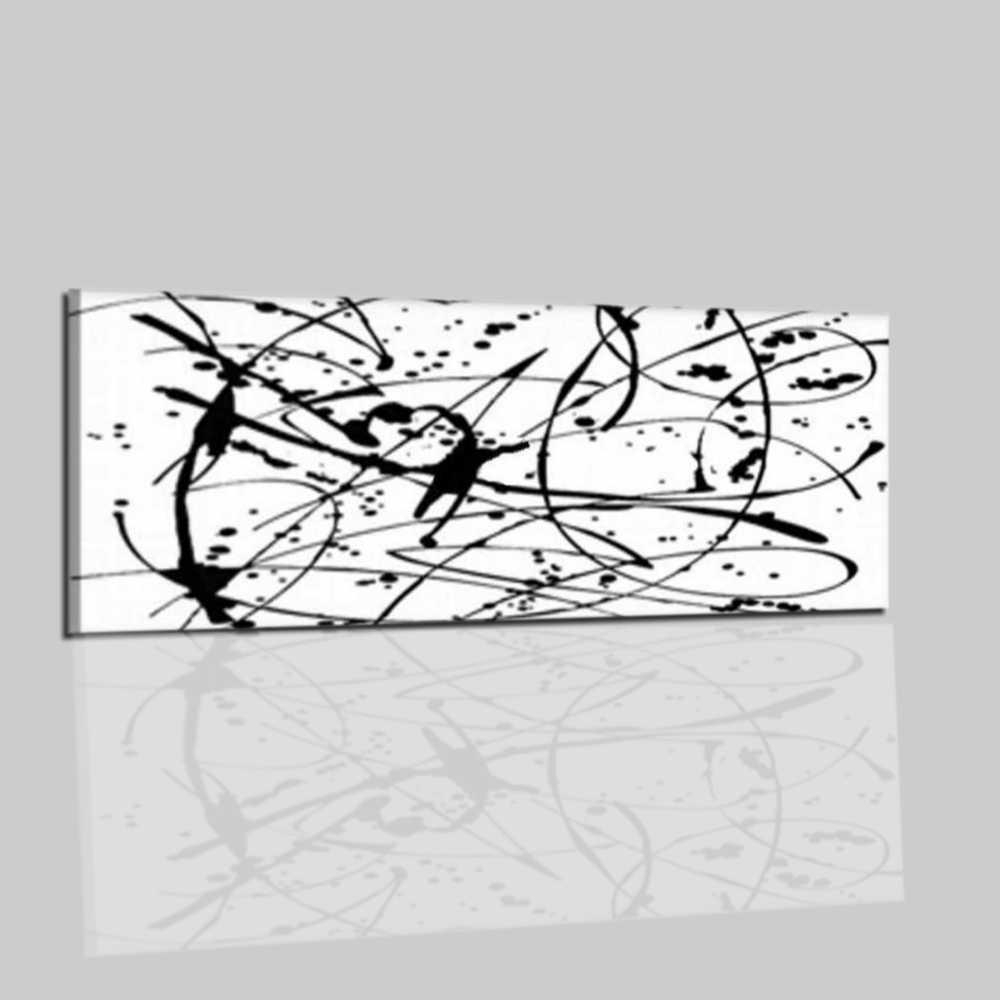 Quadri astratti - Quadro colore bianco e nero - Vagary