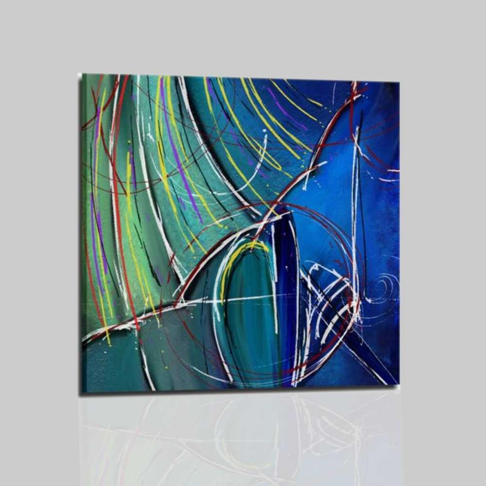 Cuadros abstractos mujer con sobrilla gardis for Cuadros abstractos con marco
