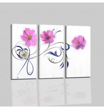 Ariela - Cuadros modernos con flores