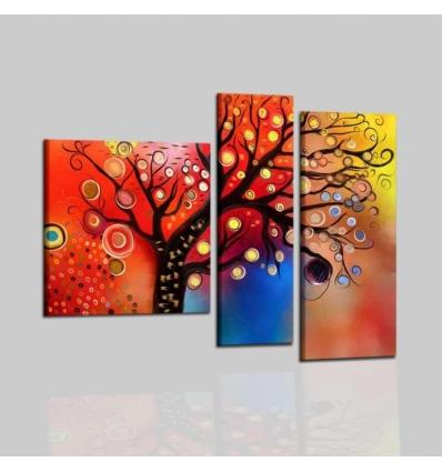Quadri moderni dipinti a mano trittico for Dipinti a mano moderni