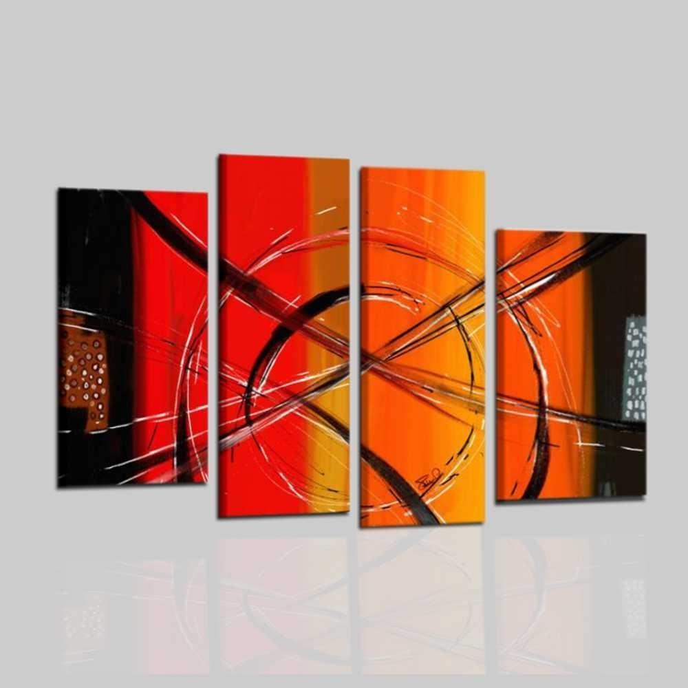 Camera Da Letto Fucsia : Quadri moderni astratti geometrici fenomeno