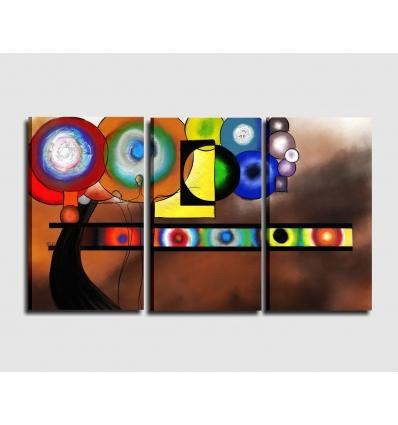 Tripticp cuadro moderno - LIZA