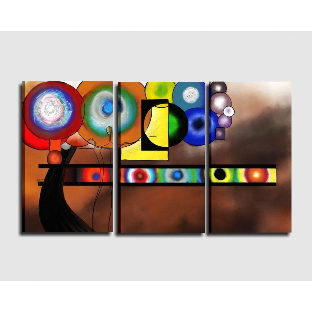 Quadro moderno astratto dipinto a mano olio su tela LIZA