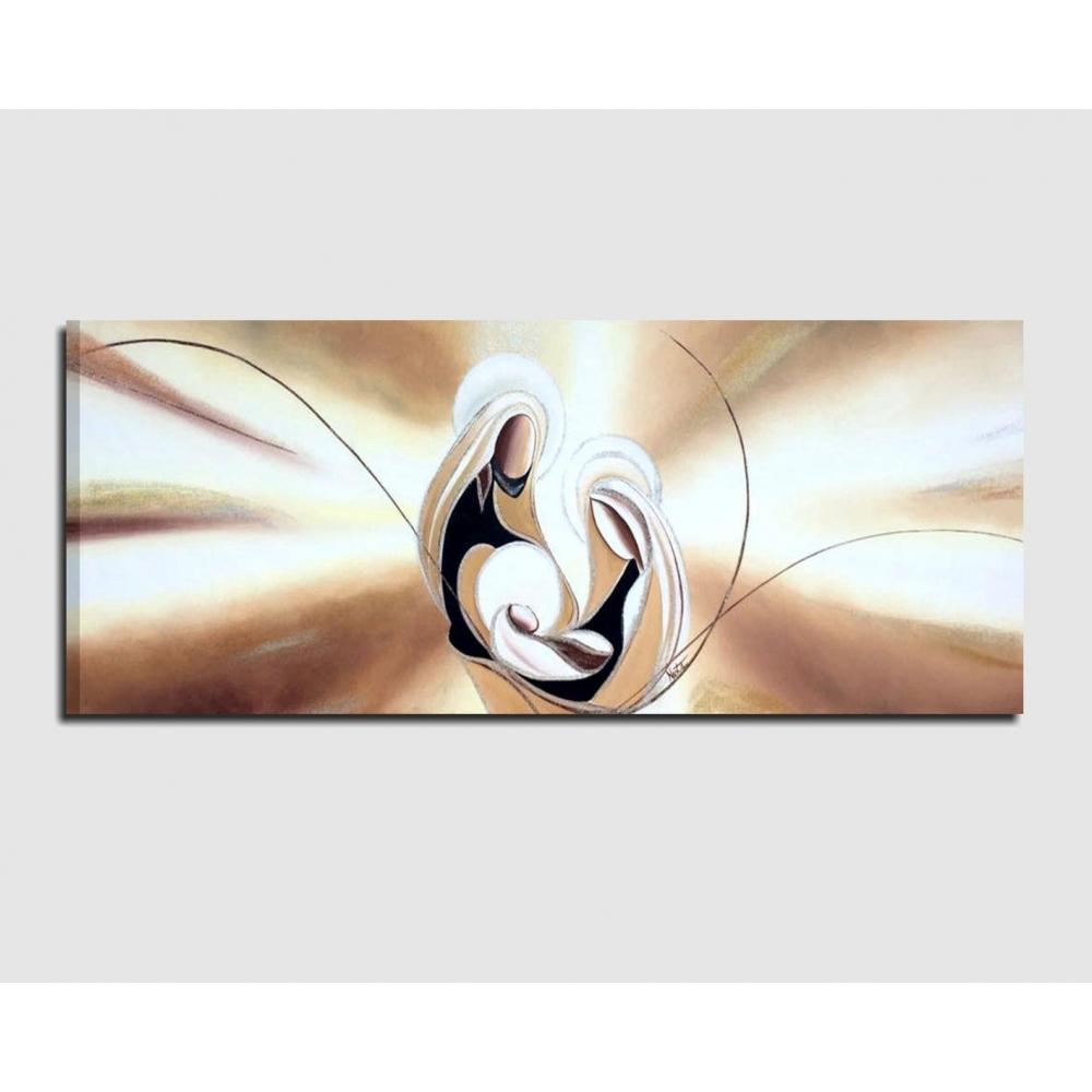 Quadri capezzali dipinti a mano - Amore e fede 3