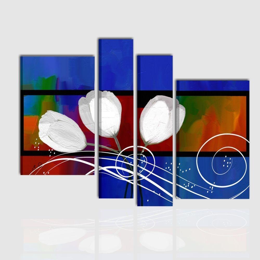 LINDA - Quadri moderni astratti con materico