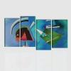 Linea kandinsky quadro astratto