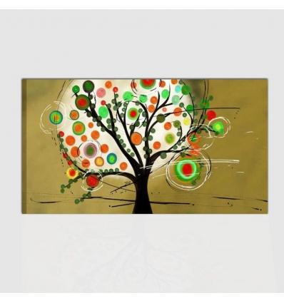 Quadro moderno con albero - Marbella