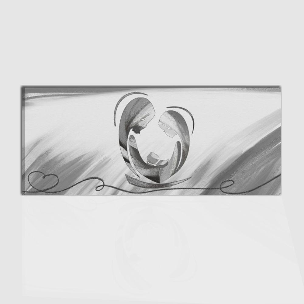 Quadro capezzale per camera da letto con raffigurazione - Luce camera da letto ...