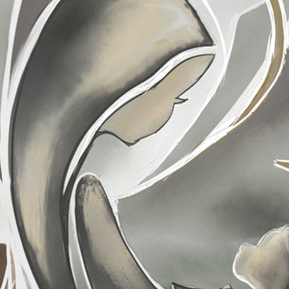 Hermoso cuadro religioso virgen con el ni o cabecera de for Cuadros religiosos modernos