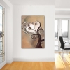 Quadro moderno dipinto a mano con albero - MAgys