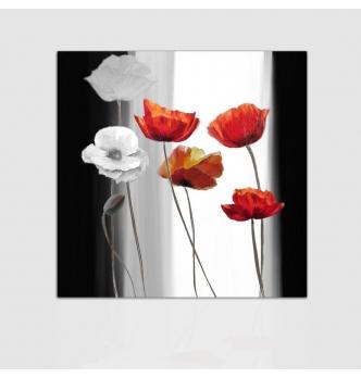 RAPSODY - Quadri astratti con fiori
