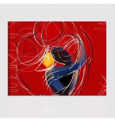 Quadro moderno - Abbraccio e Passione
