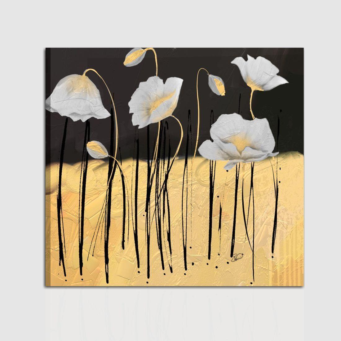 Quadri moderni dipinti a mano con fiori meg for Dipinti a mano moderni