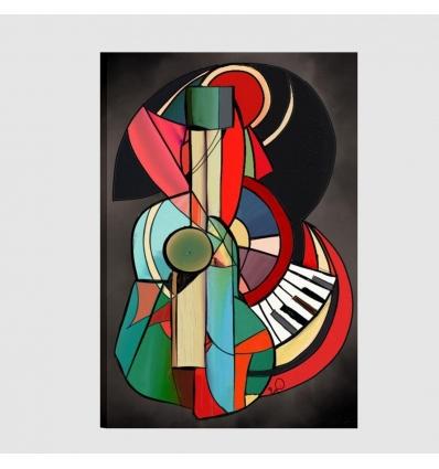 Quadri musica - Astrattismo musicale