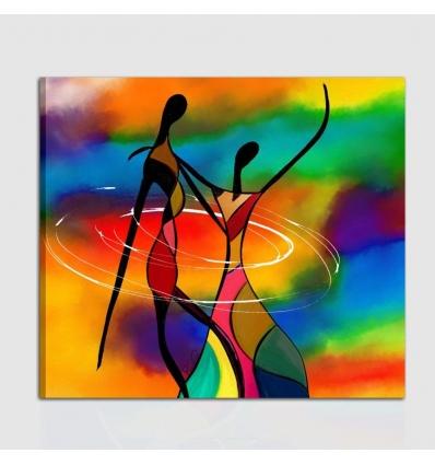 Quadro moderno dipinto a mano Gerson