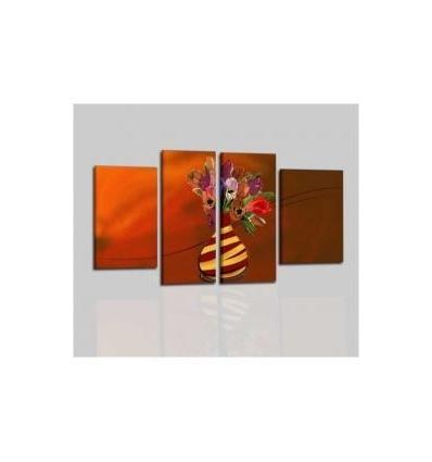 LYSEN - Modern painting orange