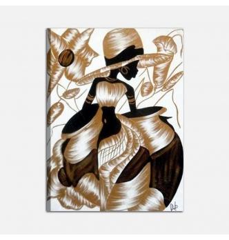 VALKIRIA - Modern painting Dominican