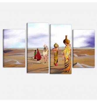 ESSIEN - Modern painting ethnic