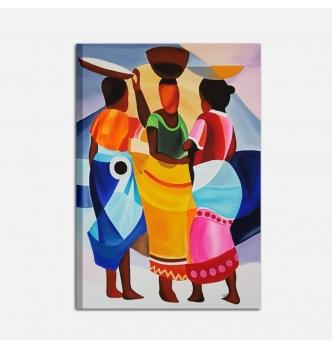 SANTIAGO - Cuadro etnico con mujer