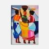 SANTIAGO - Quadro etnico con donne