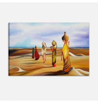 ESSIEN 3 Quadri moderni dipinti a mano