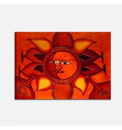 GITANA - Quadro astratti sole