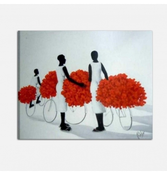 ADELKA - Painting with women bicycles