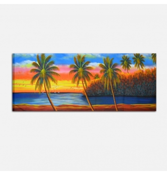 Playa 7 - Quadro paesaggio marino