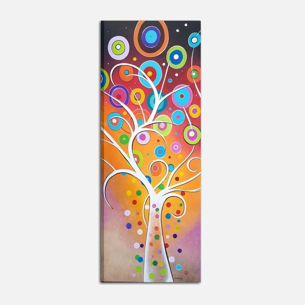 Klimt Il Bacio Quadro Moderno Verticale 30 x 83 cm | Stampa su Tela ...