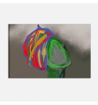 Quadro moderno dipinto a mano - Huma