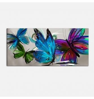 Cuadros modernos- farfalle 3