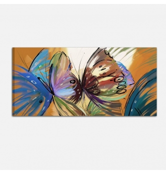 Quadri moderni dipinti a mano - Farfalle 4