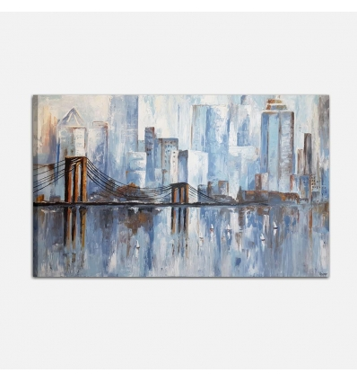 Brooklyn Bridge - Quadro moderno dipinto a mano