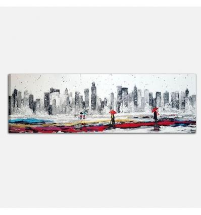 Quadri moderni con città - Panoramica New York