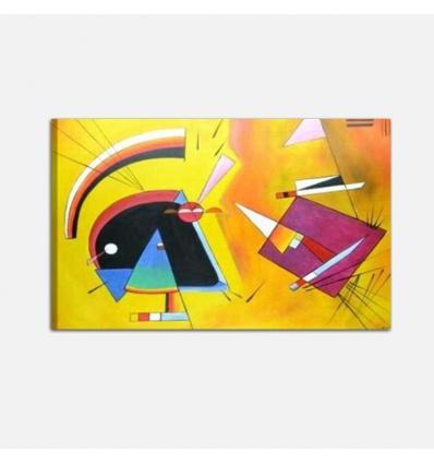 KANDINSKY NERO E VIOLA - Cuadros abstractos