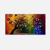 SINVAL - Quadro moderno albero colori vivaci