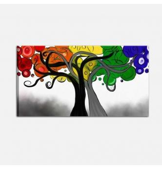 Quadro moderno con albero stilizzato - THER
