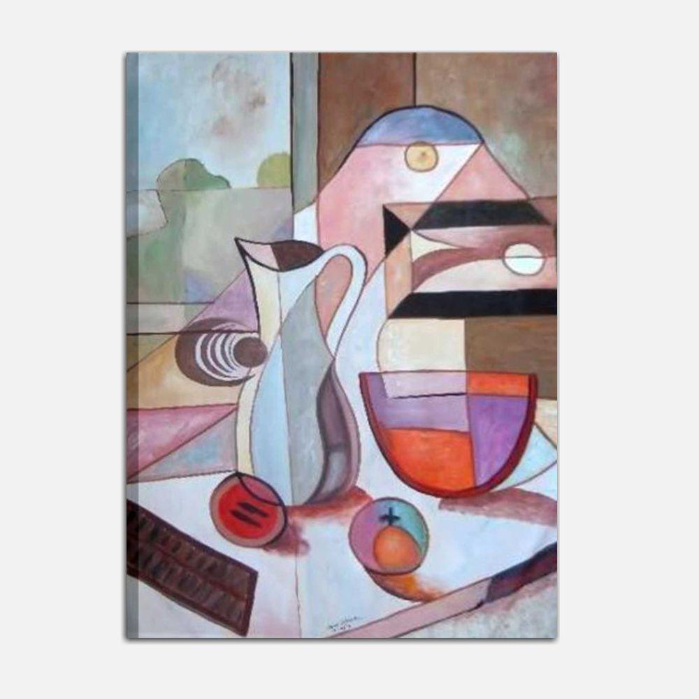 Quadri astratti dipinti a mano per arredi originali e alla for Quadri verticali astratti