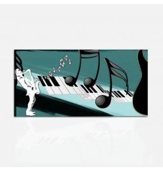 FANTASIE DI NOTE - Quadro moderno musica